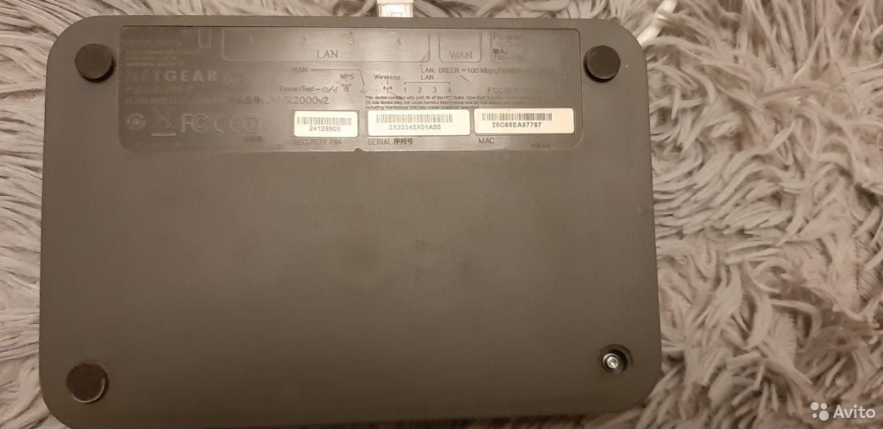 Роутер netgear 2000v2 Wi-Fi