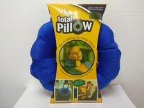 Подушка для путешествий Total Pillow, синяя