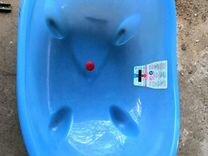 Ванночка с термометром, с гамаком