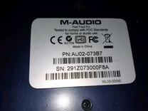USB аудиоинтерфейс M-audio fast track pro