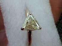 Кольцо с бриллиантом 1.19 карата