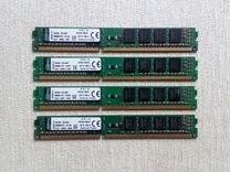 DDR3 16Gb (4x4) 1600 mhz Kingstone — Товары для компьютера в Новосибирске