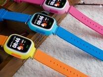 Умные детские часы Q90.Новые.Техносеть
