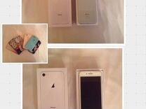 iPhone 8, серебряный, 64 GB