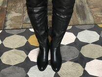 Кожаные зимние сапоги — Одежда, обувь, аксессуары в Новосибирске