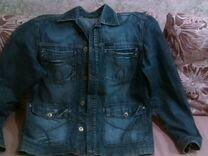 Пиджак джинсовый мужской — Одежда, обувь, аксессуары в Воронеже