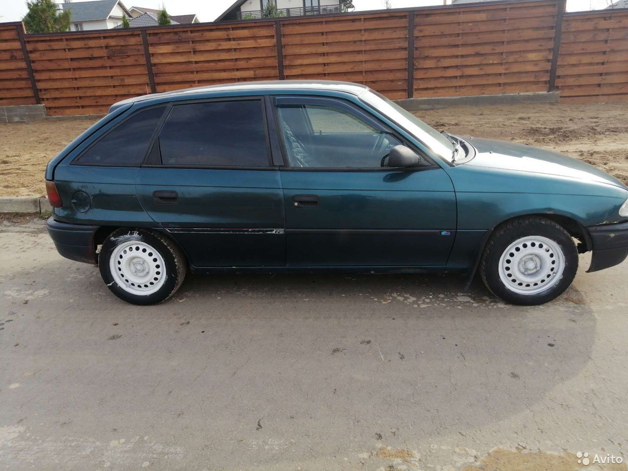 Opel Astra, 1997  89584629137 купить 9