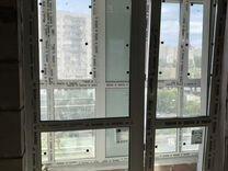 Балконную дверь панорамную