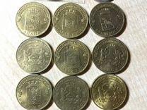Монеты памятные гальванические