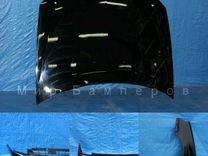 Капот Лада Приора ваз 2170 в цвет чёрная пантера 6