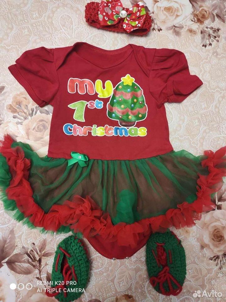 Новогодние боди-платье  89145252668 купить 5