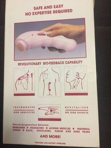 Массажер акупунктура zepter магазин женского белья после мастэктомии