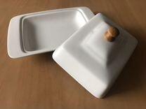 Маслёнка фарфоровая — Посуда и товары для кухни в Нижнем Новгороде