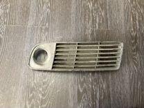 Решетка левая в бампер audi a6 4B0807681L