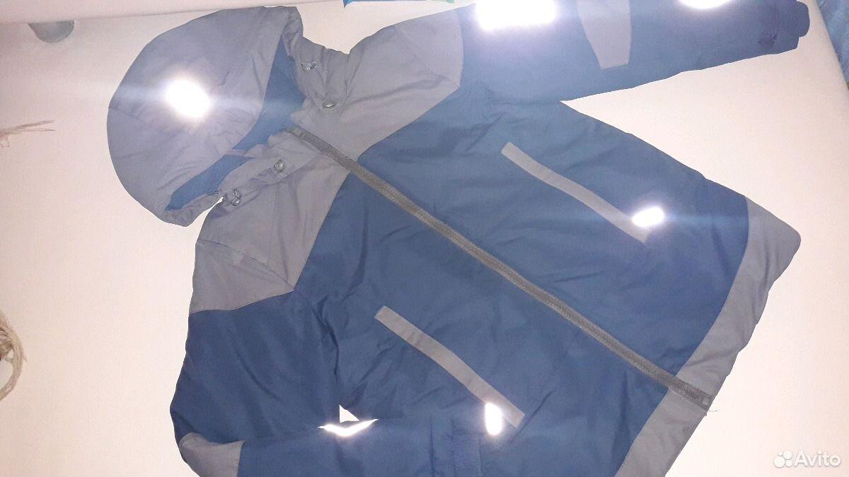 Зимняя куртка, мембрана р.128-134  89213621111 купить 1