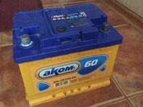 Аккумулятор Akom, 60Ah, 520A