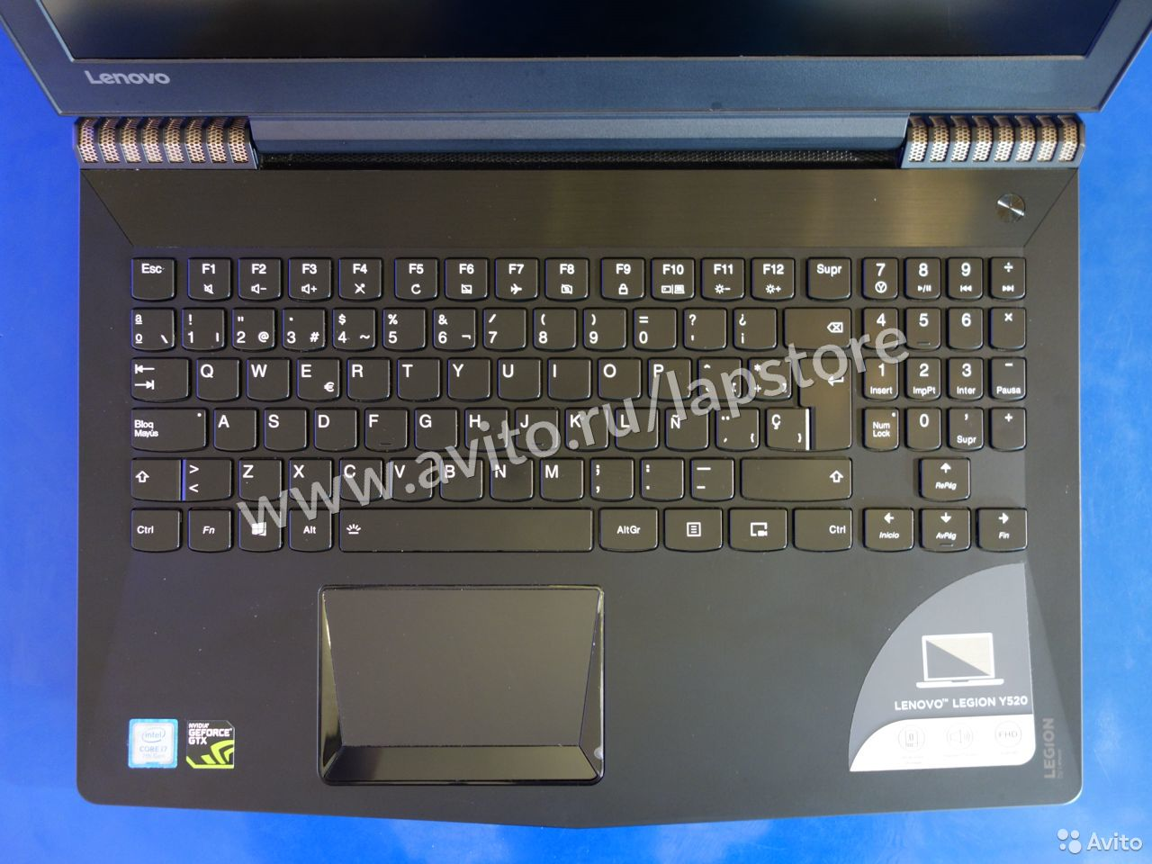 Ноутбук Lenovo Y520 i7-7700HQ/16GB/256+1T/GTX1050  84012422018 купить 4