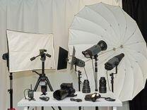 Камера Nikon D800 + Nikon MB-D12+студийное обор-е