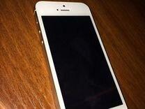 iPhone 5s, silver, 4G, подвезу